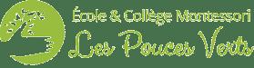 Ecole et Collège Montessori Les Pouces Verts Logo