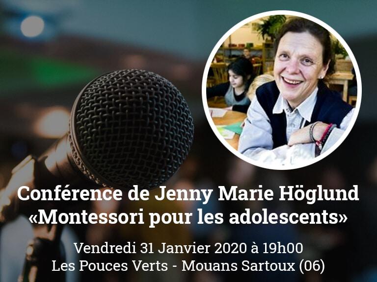 Conférence Jenny Marie Hoglund